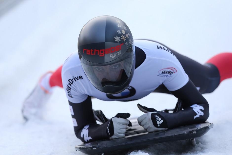 Janine Flock lenkte ihren Schlitten auf Platz vier. In der EM-Wertung wurde die Tirolerin Zweite.