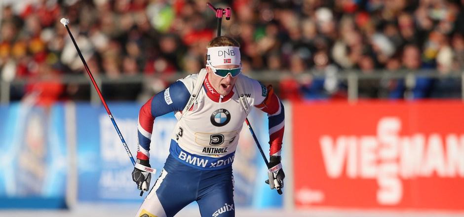 Johannes Thingnes Bö triumphiert in Südtirol.