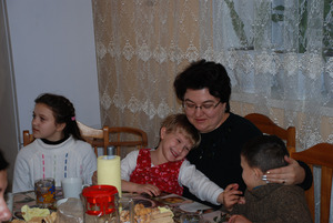 Schon nach wenigen Wochen fühlen sich die Kinder, ob ganz kleine oder größere, sehr wohl im TT-Haus der Güte.