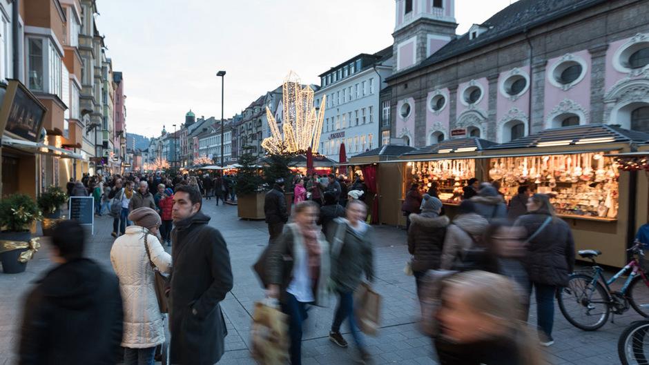 Die Geschäftsflächen in Innsbruck sind gewachsen.