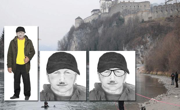 Phantomfotos des Verdächtigen.