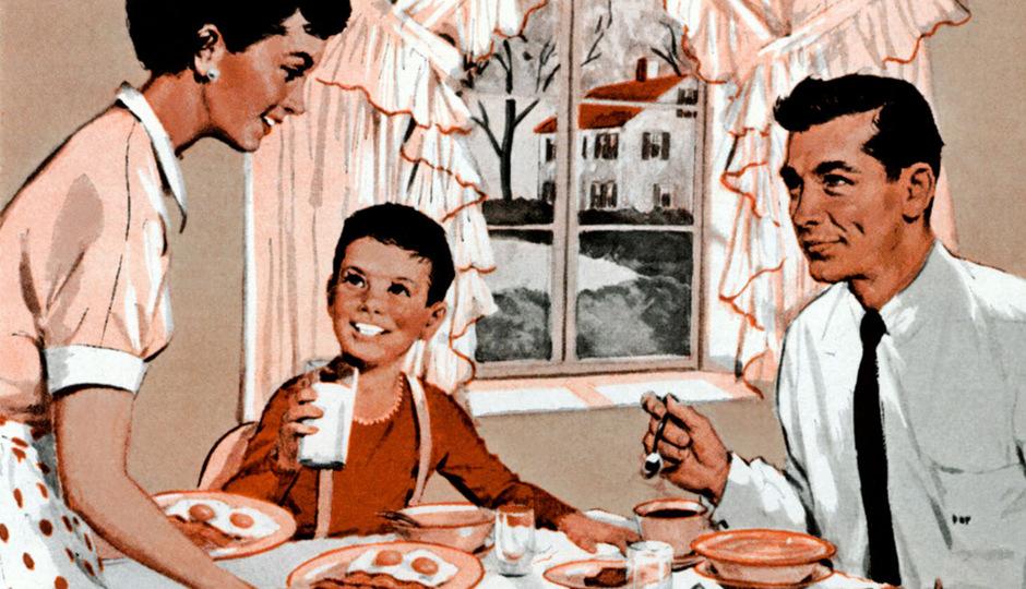 Berufstätige Frauen wurden in den 1950er-Jahren als selbstsüchtig verteufelt: Gemäß den bürgerlichen Moralvorstellungen sollte eine Frau zuhause bleiben und sich um die Familie kümmern.