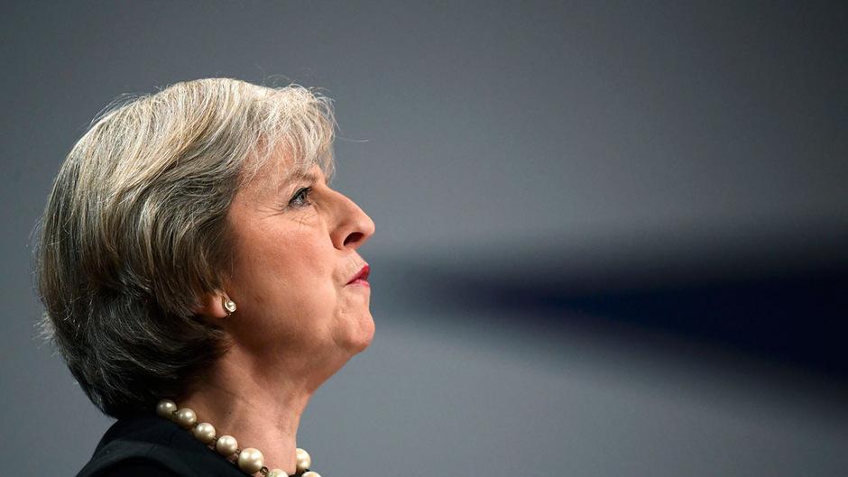 Keine Zugeständnisse: Theresa May, britische Premierministerin.