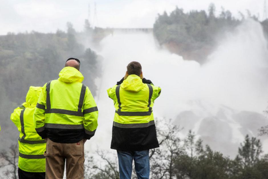 Die Lage am Oroville-Staudamm ist immer noch höchst gefährlich.