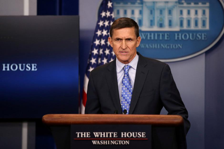 Michael Flynn war zu Beginn von Trumps Amtszeit Nationaler Sicherheitsberater der USA
