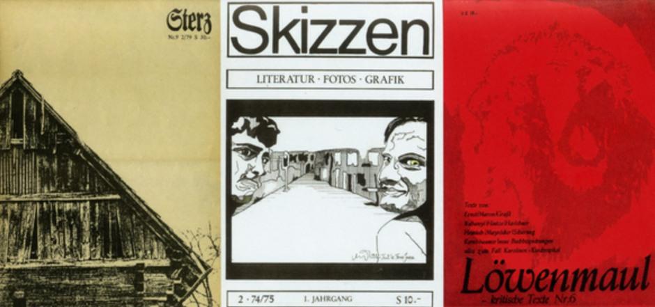 Freibord, Föhn und Löwenmaul: Mitte der 1970er-Jahre erschienen in Österreich rund 130 verschiedene Literaturzeitschriften.