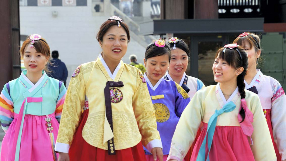 Menschen werden immer älter, in Südkorea lebt man am