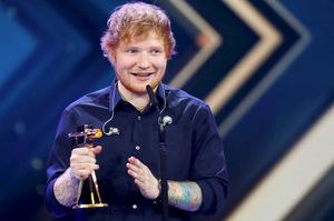Auch Ed Sheeran wurde ausgezeichnet.