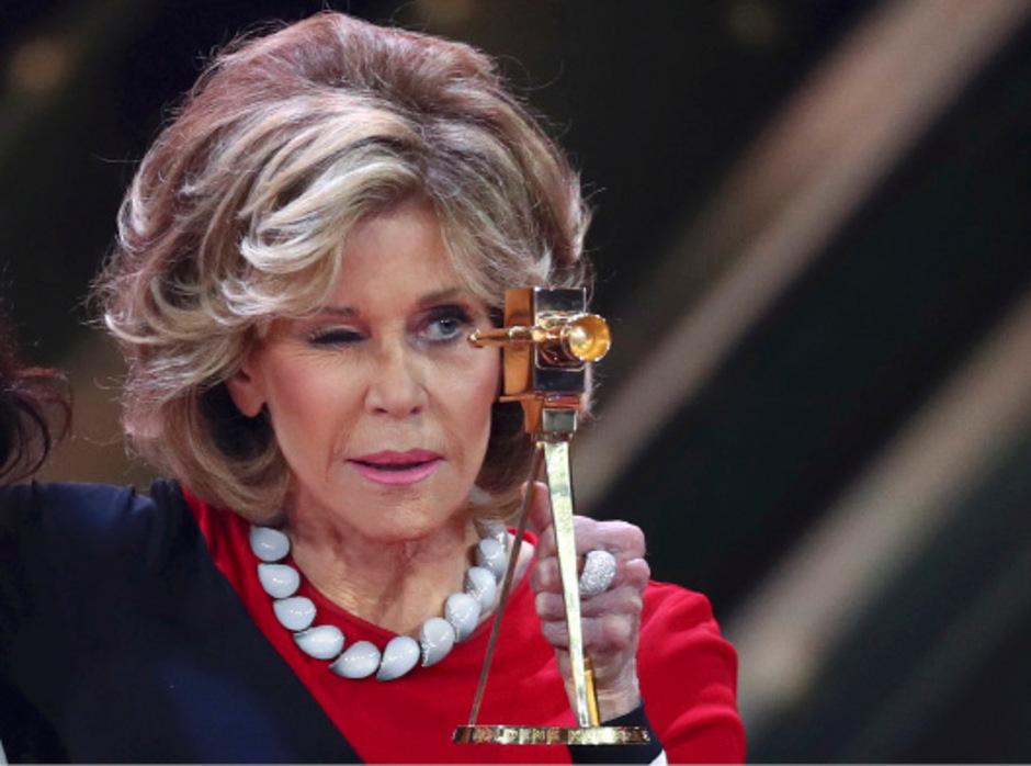 Jane Fonda war einer der Stargäste bei der Verleihung.