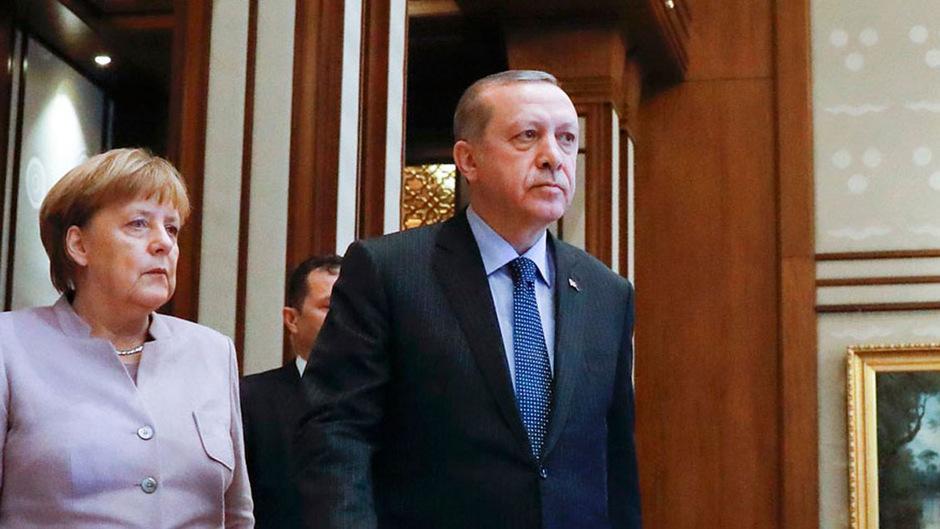 Zwischen Angela Merkel und Recep Tayyip Erdogan kriselte es in jüngster Vergangenheit gewaltig.