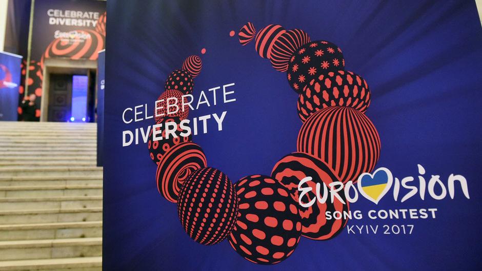 """Die Vielfalt feiern: Der diesjährige Song Contest in der Ukraine steht unter dem Motto """"Celebrate Diversity""""."""