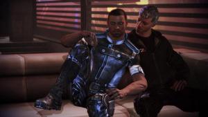 """Die Branche hat sich lange schwer getan Sexualität anzusprechen. Im Actionspiel """"Mass Effect 3"""" geht eine Figur eine homosexuelle Beziehung ein."""