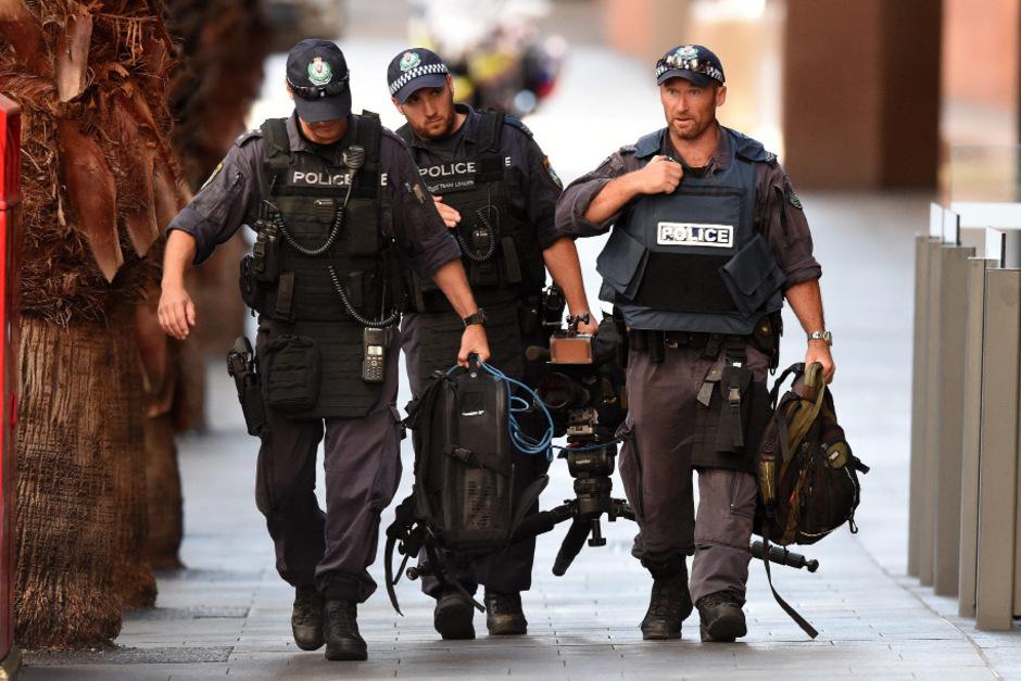 Spezialeinheiten der Polizei im Einsatz. (Symbolbild).