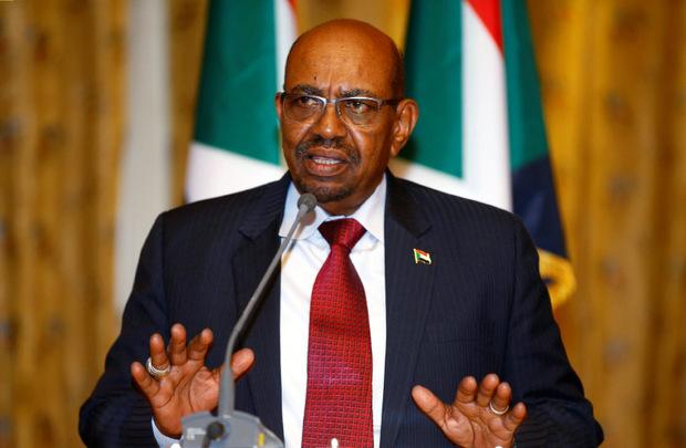 Präsidnet  Omar Al Bashir regiert mit aller Härte.
