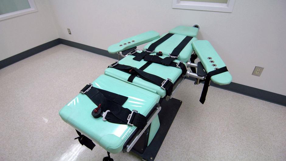 Der Hinrichtungsraum im San Quentin State Prison in Kalifornien (Symbolbild).
