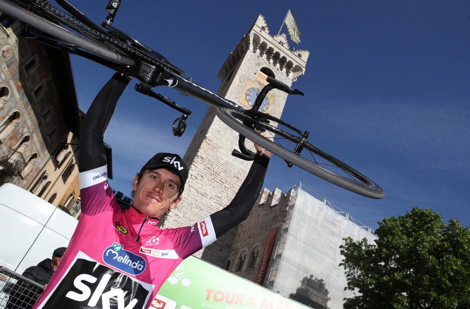 Tour-of-the-Alps-Gesamtsieger: Geraint Thomas.
