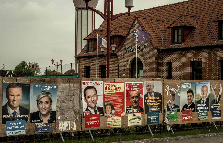 Die Wahl in Frankreich geht in den Endspurt.