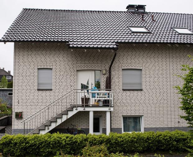 In diesem Haus wurden die drei Leichen entdeckt.