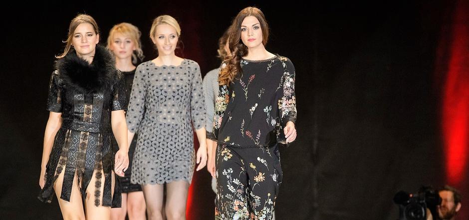 Schlank ja, aber in Konfektionsgröße 36 und 38: Die Modeveranstaltungen in Tirol (wie hier bei der Show der Landesinnung für Mode- und Bekleidungstechnik) sind nicht mit den Haute-Couture-Schauen vergleichbar.