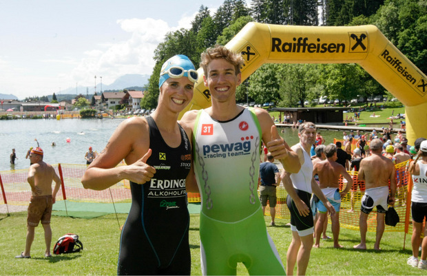 Lisa-Maria Dornauer und Thomas Steger.
