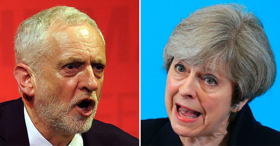 Theresa May und Jeremy Corbyn wird ein neuer Kurs aufgezwungen.