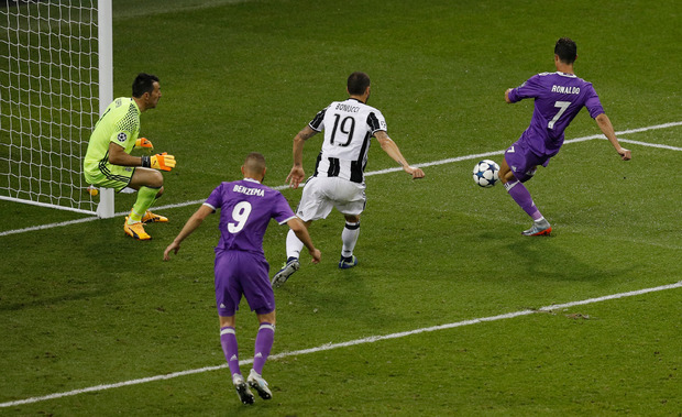 Mit seinem zweiten Treffer sorgte Ronaldo für die Vorentscheidung.