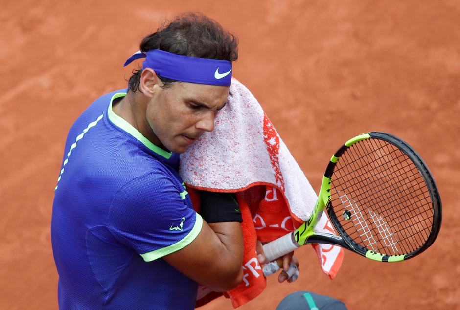 Rafael Nadal kam gegen Roberto Bautista Agut nur selten ins Schwitzen.