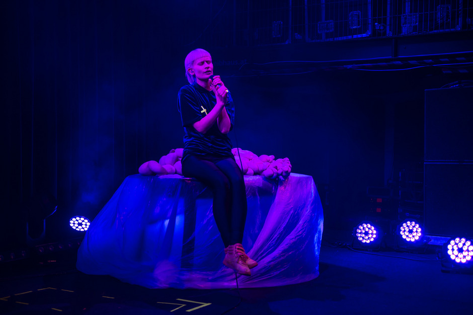 Am Samstag beim Heart of Noise Festival im Treibhaus zu Gast: die norwegische Musikerin Jenny Hval.