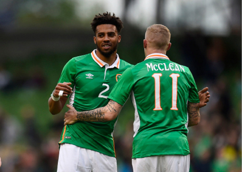 Cyrus Christie und James McClean.