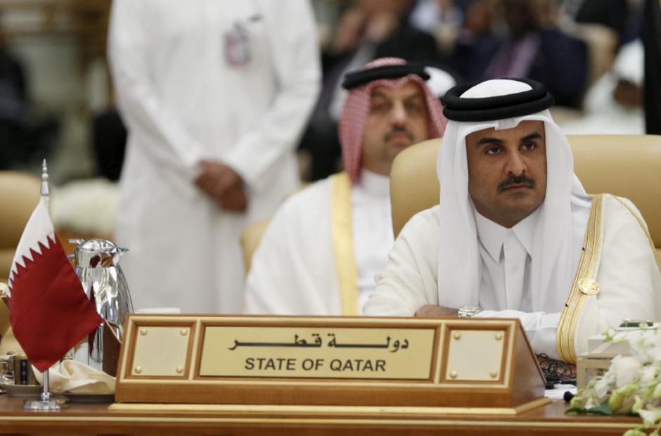 Plötzlich in der Isolation: Der Emir von Katar, Tamim bin Hamad al-Thani.