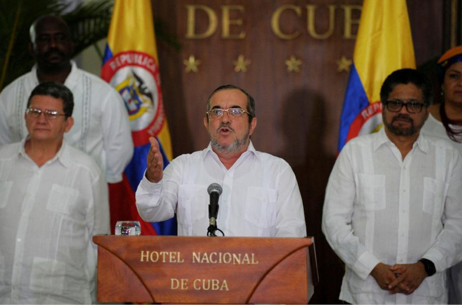 FARC-Chef Rodrigo Londono im vergangenen August.