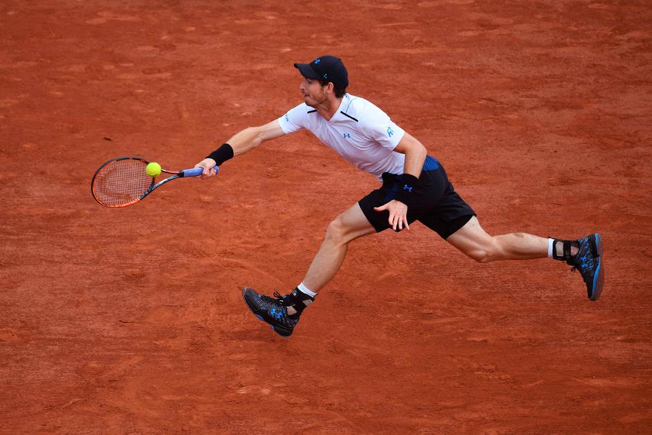Andy Murray machte bei den French Open den nächsten Schritt Richtung Endspiel.