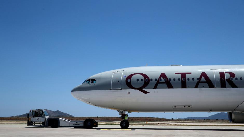 Eine Maschine der Qatar Airways. (Archivbild)