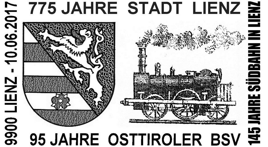 Im Sonderstempel darf auch das Stadtwappen von Lienz aufscheinen. Der Gemeinderat gab im Februar grünes Licht dafür.