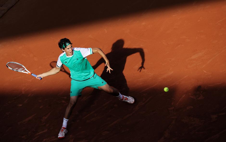Dominic Thiem trifft nun erst am Mittwoch auf Novak Djokovic.