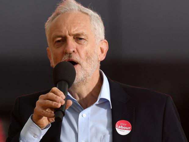 Jeremy Corbyn, Alt-Linker und Vorsitzender der Arbeiterpartei.