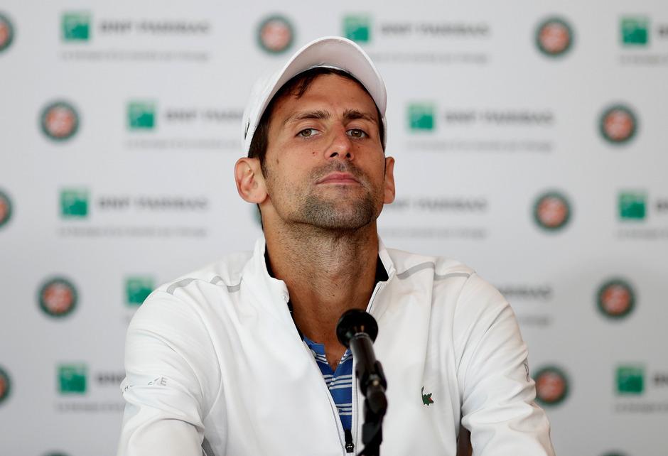 Es läuft nicht ganz rund für Novak Djokovic.