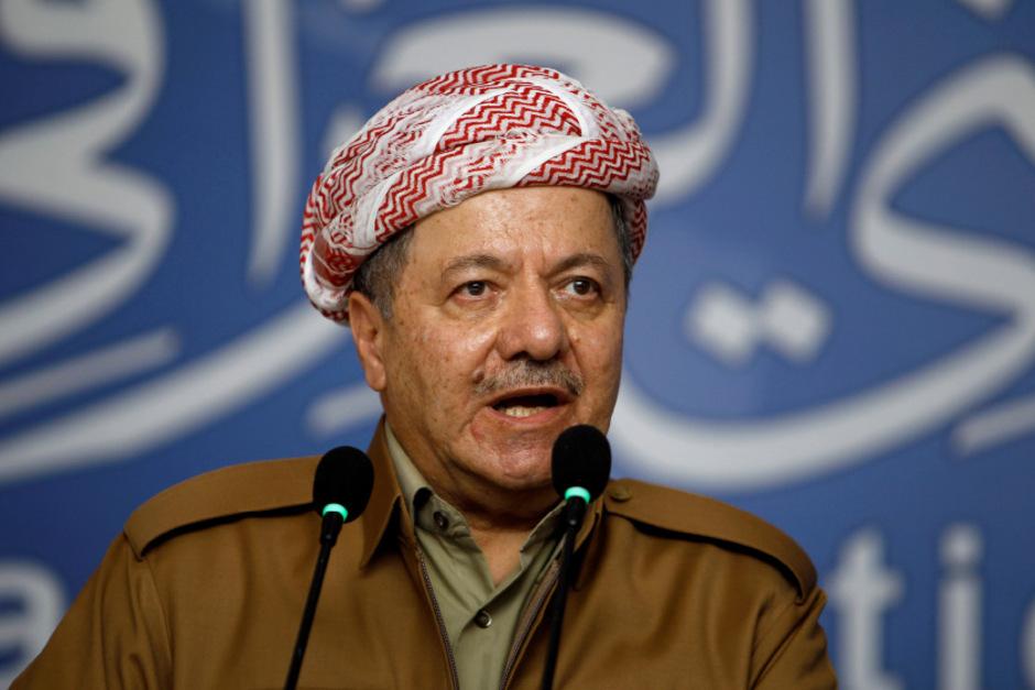 Massoud Barzani, Präsident des irakischen Kurdistan.