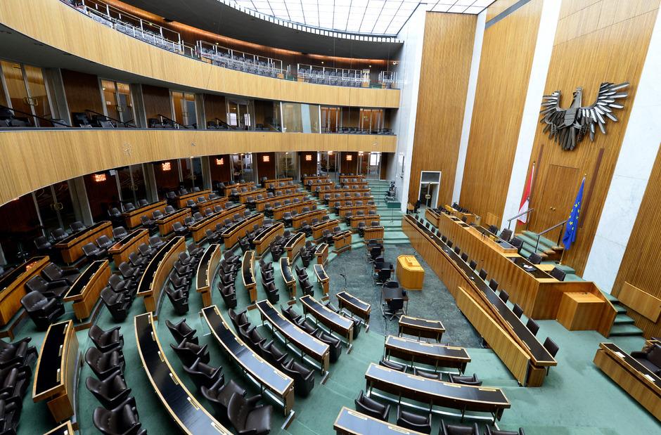 Turbulente Tage im Österreichischen Parlament.