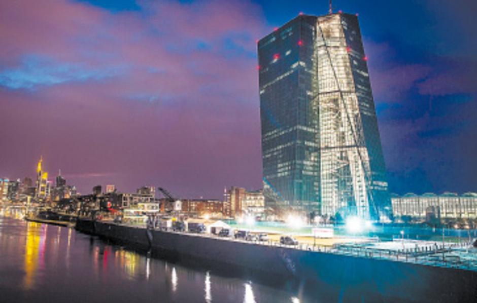 Zentrale der Europäischen Zentralbank (EZB)