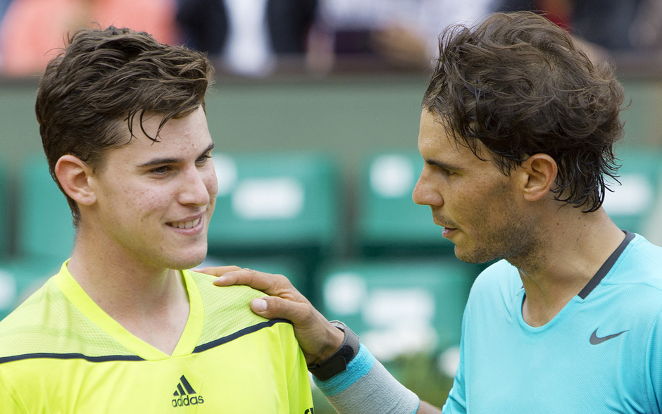 Beim ersten von bisher sechs Duellen (4:2 für Nadal) gab es 2014 in Paris noch eine Lehrstunde für Dominic Thiem.
