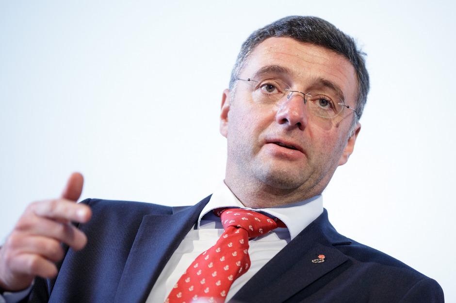 Infrastrukturminister Jörg Leichtfried  (SPÖ).