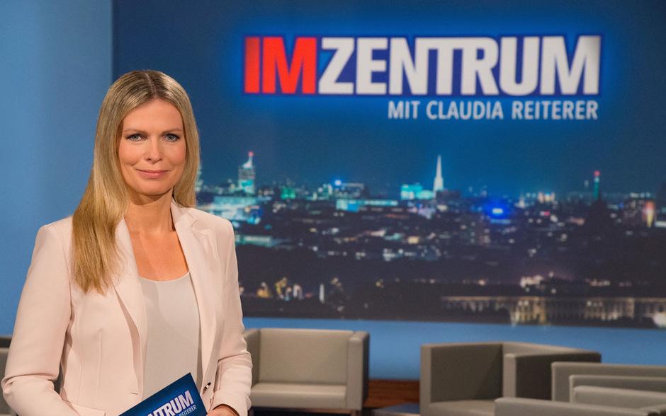 """""""Im Zentrum""""-Moderatorin Claudia Reiterer wird die TV-Duelle im ORF abwechselnd mit ihrem Kollegen Tarek Leitner moderieren."""