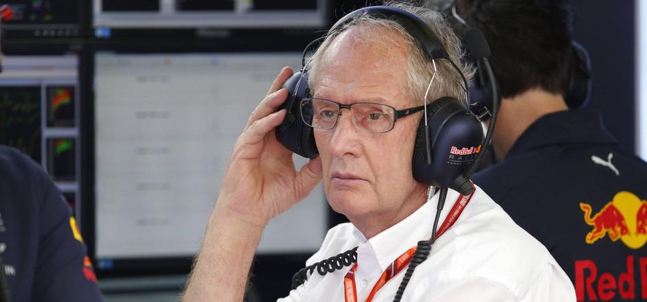 Der Rückstand auf die Formel-1-Spitze lässt Red Bulls Helmut Marko grübeln.