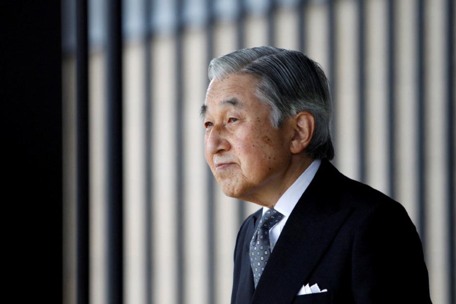 Japans König Akihito.