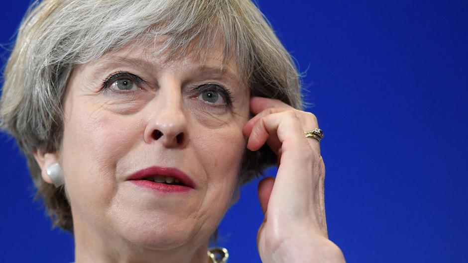 Großbritanniens Premierministerin Theresa May.