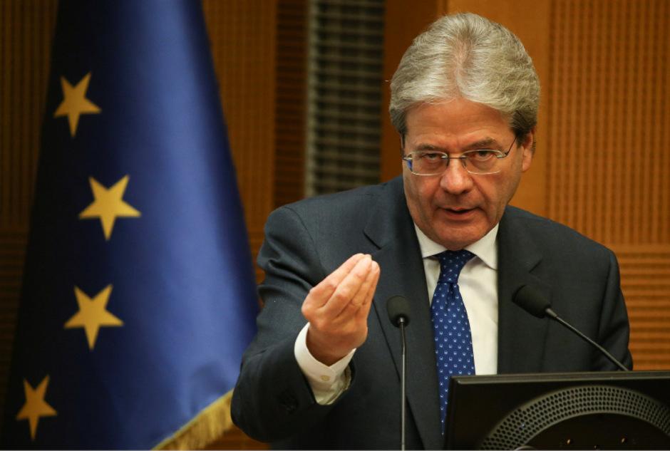 Italiens  Regierungschef Paolo Gentiloni.