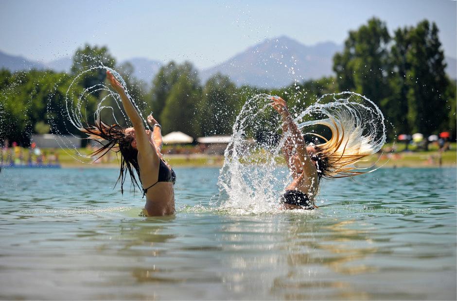 An den Tiroler Seen wird am Samstag wohl wieder Hochbetrieb herrschen.