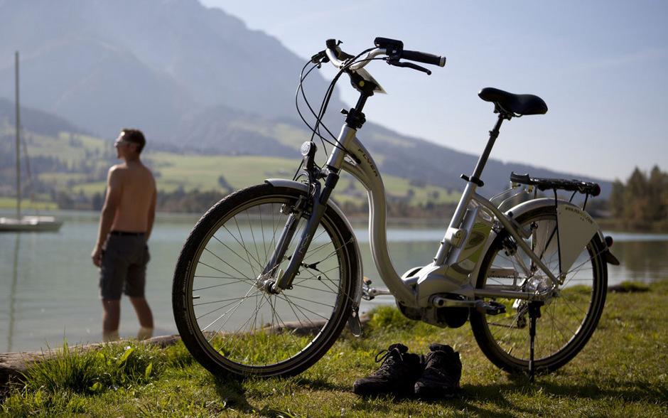 E-Bikes sind gefragt.