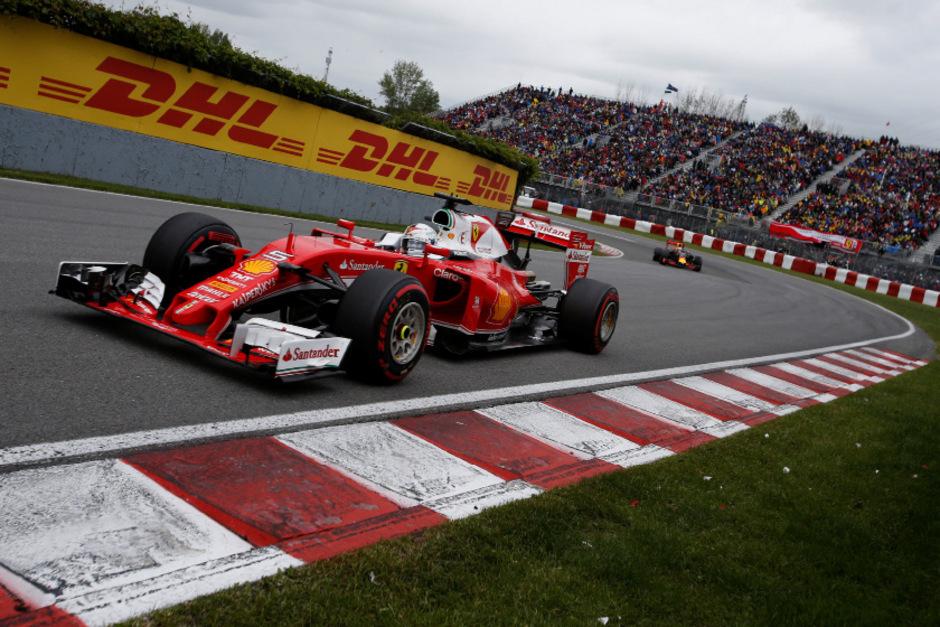 Heißer Favorit auf den Sieg in Kanada: Ferrari-Pilot Sebastian Vettel.